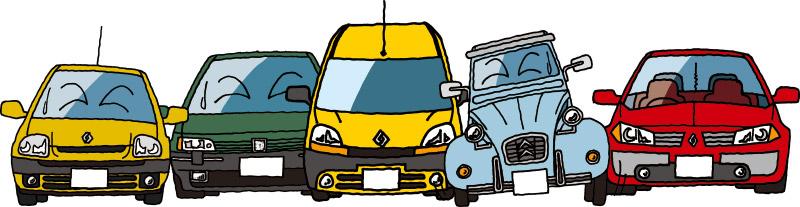 重課税に嘆く仏車たち