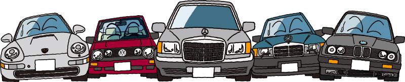 重課税に嘆く独車たち
